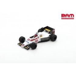 SPARK S3925 SPIRIT 101 Test Brésil 1984 Emerson Fittipaldi
