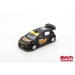 SPARK S6574 CITROEN C3 SaintLoc Racing Rallye Sardaigne 2020