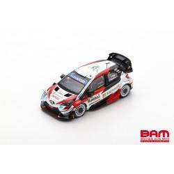 SPARK S6572 TOYOTA Yaris WRC N°17 Vainqueur Rallye Monza WRC 2020 Pilote Champion du monde Sébastien Ogier - Julien Ingrassia