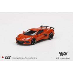 MINI GT MGT00227-L CHEVROLET Corvette Stingray 2020 Sebring Orange Tintcoat