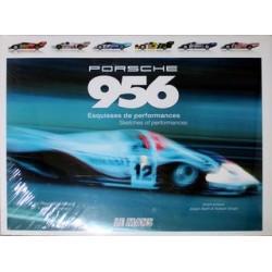 PORSCHE 956 ESQUISSES DE PERFORMANCES