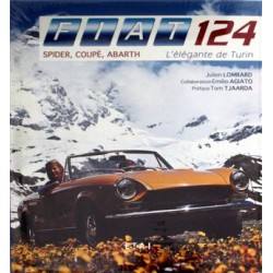 FIAT 124 COUPE SPIDER ELEGANTE DE TURIN