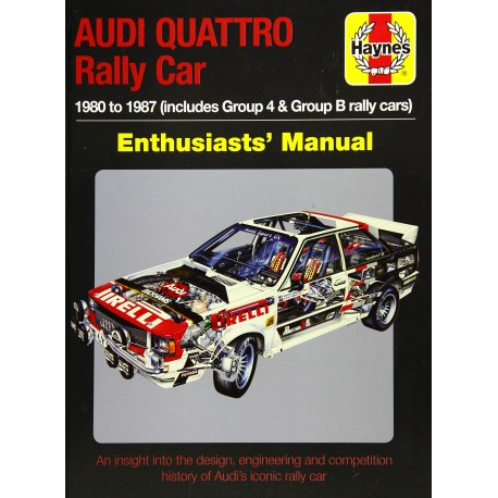 AUDI QUATTRO RALLY CAR 1980-1987