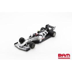 SPARK S6480 ALPHATAURI AT01 N°10 Scuderia AlphaTauri F1 Team Vainqueur GP Italie 2020 (1/18)