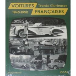 VOITURES FRANCAISES 1945-1950