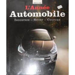 L'ANNEE AUTOMOBILE 2011 - 2012