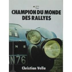 CHAMPION DU MONDE DES RALLYES