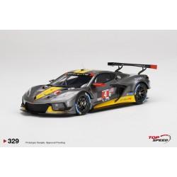 TOP SPEED TS0329 CHEVROLET Corvette C8.R N°4 Corvette Racing-IMSA 2ème GTLM 24H Daytona 2021-