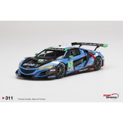 TOP SPEED TS0311 ACURA NSX GT3 EVO N°57 Heinricher RacingIMSA 24H Daytona 2020 Á. Parente -