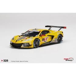TOP SPEED TS0328 CHEVROLET Corvette C8.R N°3 Corvette Racing IMSA Vainqueur GTLM 24H Daytona 2021
