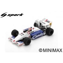 SPARK S2779 TOLEMAN TG184 N°20 GP Monaco 1984 Johnny Cecotto