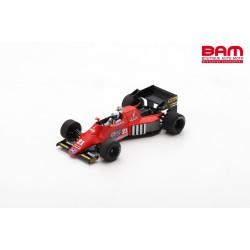 SPARK S3926 SPIRIT 101 N°21 GP Brésil 1984 Mauro Baldi