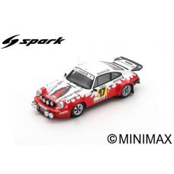 SPARK S6635 PORSCHE 911 Carrera N°17 Rallye Monte Carlo 1977 Francis Bondil - Denise Emmanuelli