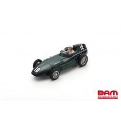 SPARK S7203 VANWALL VW2 N°10 4ème GP Belgique 1956 Harry Schell