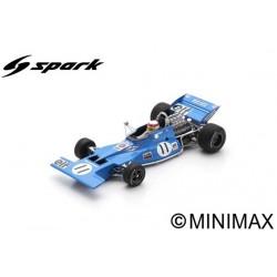 SPARK S7213 TYRRELL 003 N°11 Vainqueur GP Monaco 1971 Jackie Stewart