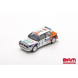 SPARK S9024 LANCIA Delta HF Integrale EVO N°1 Rallye Monte Carlo 1993 Carlos Sainz - Luis Moya