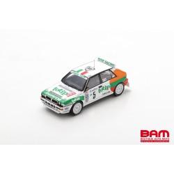 SPARK S9025 LANCIA Delta HF Intergrale EVO N°5 Rallye Monte Carlo 1993 Andrea Aghini - Sauro Farnocchia