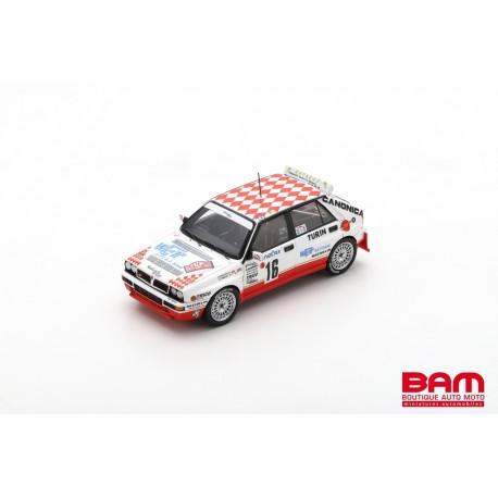 SPARK S9026 LANCIA Delta HF Intergrale EVO N°16 Vainqueur Grp N Rallye Monte Carlo 1993 Christophe Spiliotis - Hervé Thibaud