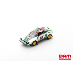 SPARK S9082 LANCIA Stratos HF N°10 Rallye Monte Carlo 1976 Sandro Munari - Silvio Maiga