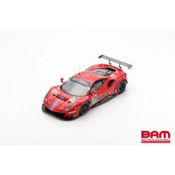 LOOKSMART LS18LM024 FERRARI 488 GTE EVO N°82 Risi Competizione 24H Le Mans 2020