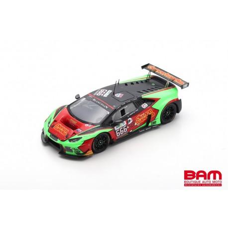 SPARK SB294 LAMBORGHINI Huracán GT3 N°666 Barwell Motorsport 24H Spa 2016 J. Minshaw - P. Keen - O. Gavin - J. Osborne (300ex)