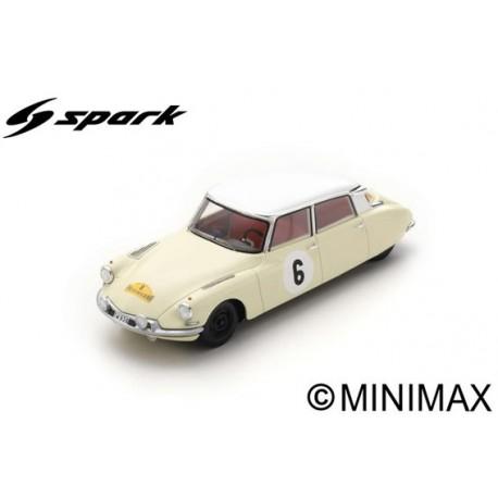 SPARK SF230 CITROEN DS19 N°6 Vainqueur Rallye des Routes du Nord 1963 Lucien Bianchi - Pascal Ickx (300ex)