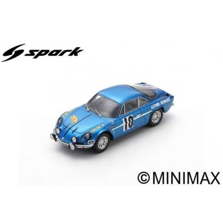 SPARK SF231 ALPINE A110 N°10 Vainqueur Rallye des Routes du Nord 1963 Jean Vinatier - Marcel Callewaert (300ex)