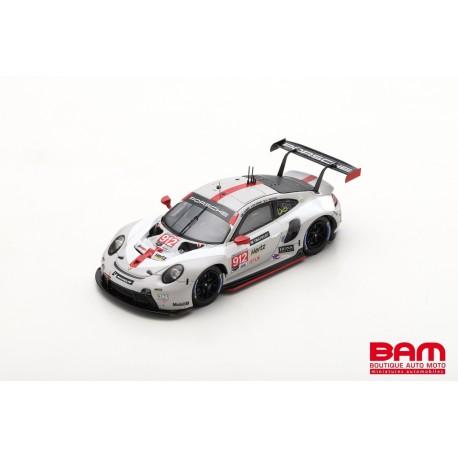 SPARK US121 PORSCHE 911 RSR N°912 Porsche GT Team 2ème GTLM class 24H Daytona 2020