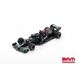 SPARK S7660 MERCEDES-AMG Petronas W12 E Performance N°44 Petronas Formula One Team Vainqueur GP Bahrain 2021 Lewis Hamilton