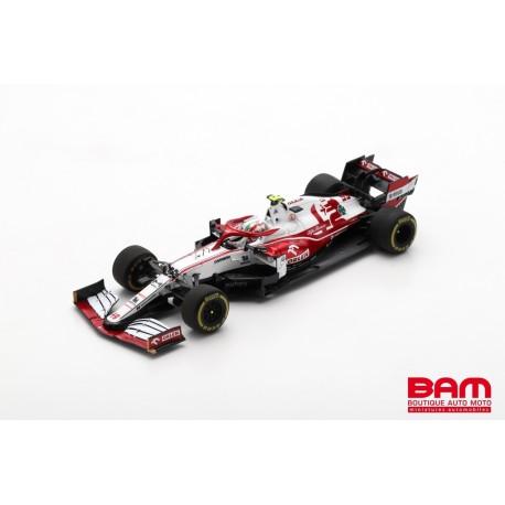 SPARK S7663 ALFA ROMEO Racing ORLEN C41 N°99 Sauber F1 Team GP Bahrain 2021 Antonio Giovinazzi