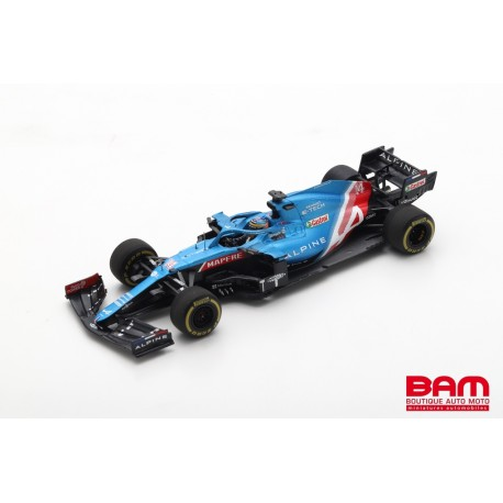SPARK S7664 ALPINE A521 N°14 Alpine F1 Team GP Bahrain 2021 Fernando Alonso