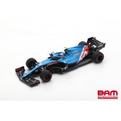 SPARK S7665 ALPINE A521 N°31 Alpine F1 Team GP Bahrain 2021 Esteban Ocon