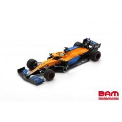 SPARK S7670 MCLAREN MCL35M N°3 McLaren F1 Team7ème GP Bahrain 2021 Daniel Ricciardo