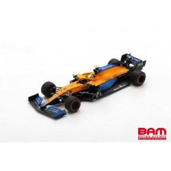 SPARK S7671 MCLAREN MCL35M N°4 McLaren F1 Team 4ème GP Bahrain 2021 Lando Norris