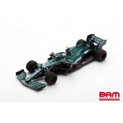 SPARK S7672 ASTON MARTIN AMR21 N°5 Aston Martin Cognizant F1 Team GP Bahrain 2021 Sebastian Vettel