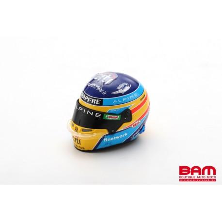 SPARK 5HF061 CASQUE Fernando Alonso - Alpine 2021 1/5ème