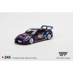"MINI GT00245-L NISSAN 35GT-RR Ver.1 ""Purple Metallic"""