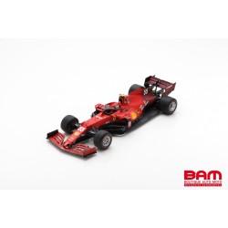 LOOKSMART LS18F1036 FERRARI SF21 No.55 Scuderia Ferrari GP Bahrain 2021 (1/18)