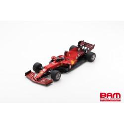 LOOKSMART LS18F1035 FERRARI SF21 No.16 Scuderia Ferrari GP Bahrain 2021 (1/18)