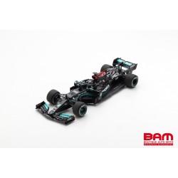 SPARK 18S576 MERCEDES-AMG Petronas W12 E Performance N°44 Petronas Formula One Team Vainqueur GP Bahrain 2021 Lewis Hamilton