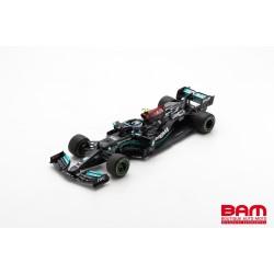 SPARK 18S577 MERCEDES-AMG Petronas W12 E Performance N°77 Petronas Formula One Team 3ème GP Bahrain 2021 Valtteri Bottas