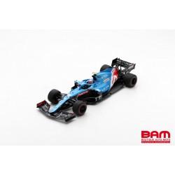 SPARK 18S581 ALPINE A521 N°31 Alpine F1 Team GP Bahrain 2021 Esteban Ocon