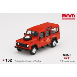 MINI GT MGT00152-R LAND ROVER Defender 110 UK Royal Mail Post Bus