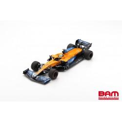 SPARK 18S584 MCLAREN MCL35M N°3 McLaren F1 Team7ème GP Bahrain 2021 Daniel Ricciardo