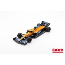 SPARK 18S585 MCLAREN MCL35M N°4 McLaren F1 Team 3ème GP Emilie Romagne 2021 Lando Norris