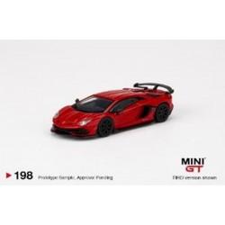 MINIGT00198-L LAMBORGHINI Aventador SVJ Rosso Mars