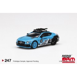 MINI GT MGT00247-L BENTLEY Continental GT 2020 GP Ice Race