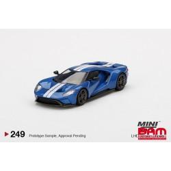 MINI GT MGT00249-L FORD GT Liquid Blue