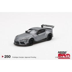 MINI GT MGT00250-L TOYOTA GR Supra V1.0 Pandem Matte Grey