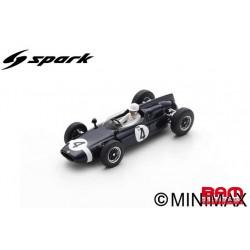 SPARK S8065 COOPER T53 N°4 Vainqueur International Trophy 1961